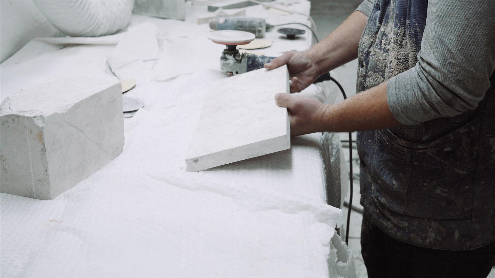 Découpe marbre et granite