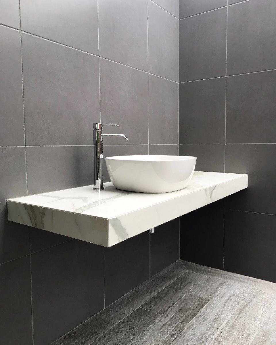 salle de bain granite et marbre