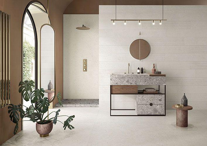 Salle de bain en marbre et granit Périgueux