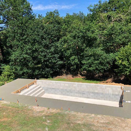 Réalisation piscine en Dordogne à Périgueux